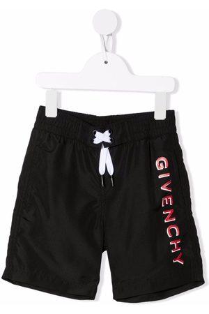 Givenchy Jungen Shorts - Logo-print drawstring shorts