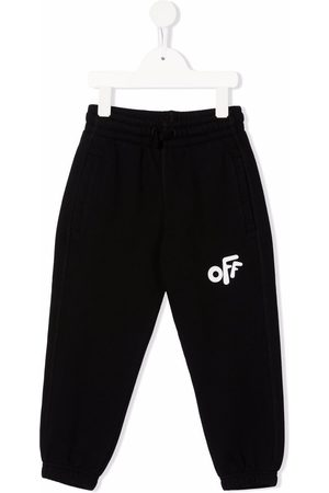 Off-White Kids OFF ROUNDED SWEATPANT WHITE
