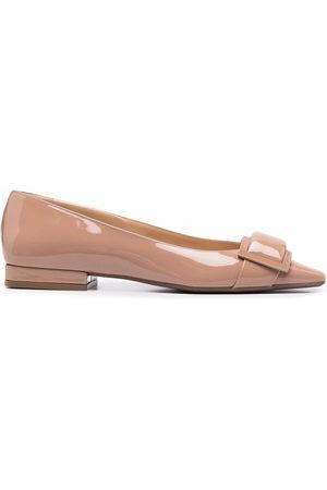 Sergio Rossi Damen Ballerinas - Sr Twenty patent-leather ballerina shoes