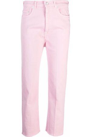 Nº21 Damen Straight - Cropped straight-leg jeans