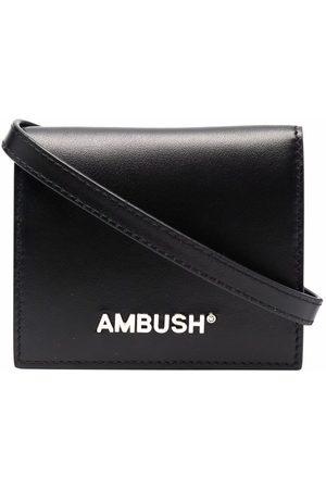 AMBUSH Logo-print cardholder