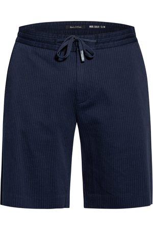 Marc O'Polo Herren Shorts - Shorts Slim Fit schwarz