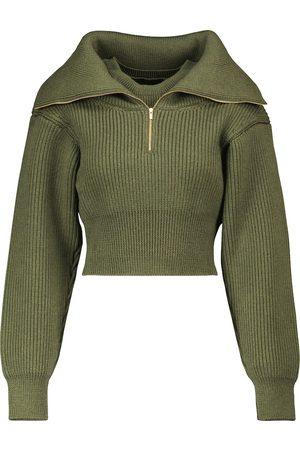 Jacquemus Cropped-Pullover La Maille Risoul aus Wolle