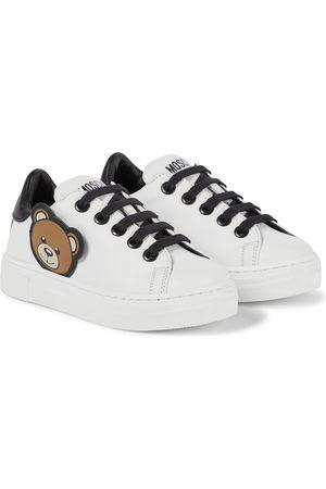 Moschino Sneakers aus Leder