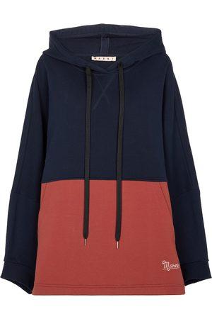 Marni Oversize-Hoodie aus Baumwoll-Jersey