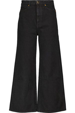Khaite High-Rise Flared Jeans Ella