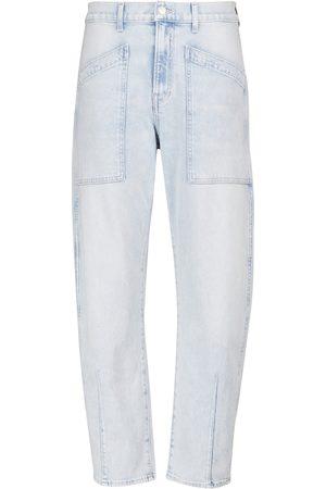 VERONICA BEARD Damen High Waisted - High-Rise Cropped Jeans Charlie