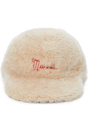 Marni Damen Hüte - Baseballcap aus Shearling