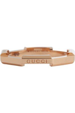 Gucci Ring Link to Love aus 18-Karat-Roségold
