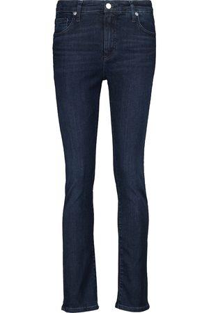 AG Jeans Skinny Jeans mit hohem Bund
