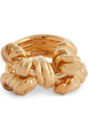 Bottega Veneta Vergoldeter Ring aus Sterlingsilber