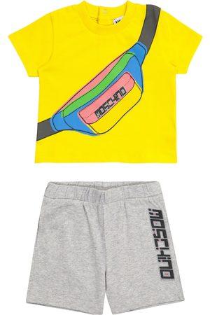 Moschino Baby Set aus T-Shirt und Shorts