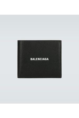 Balenciaga Logo-Portemonnaie Cash aus Leder