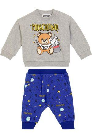 Moschino Baby Set aus Sweatshirt und Jogginghose