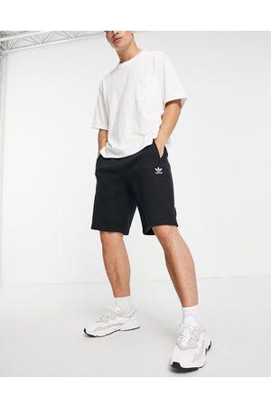 adidas Originals Essentials shorts with small logo in black