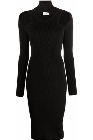Coperni Cut-out knit dress