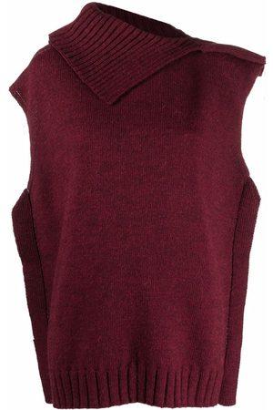 MM6 MAISON MARGIELA Asymmetric knit jumper