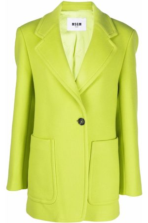Msgm Notched lapels single-breasted blazer