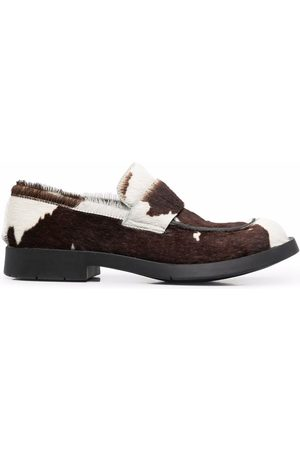 CamperLab MIL 1978 cow print loafers