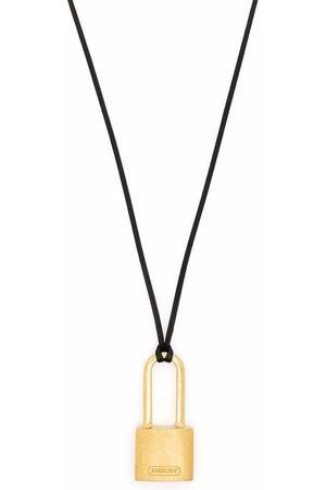 AMBUSH Halsketten - SMALL PADLOCK NECKLACE GOLD NO COLOR
