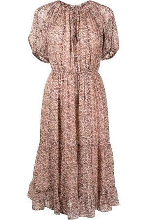 Ulla Johnson Berenice floral-print silk dress