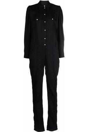 Isabel Marant Damen Jumpsuits - Long-sleeved lyocell jumpsuit