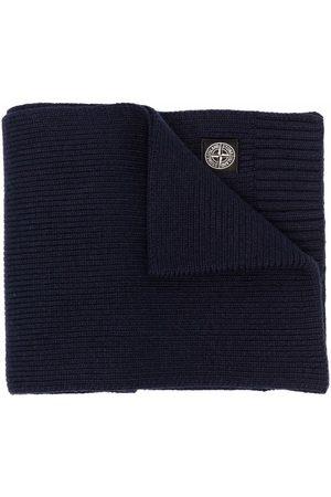 Stone Island Jungen Schals - Logo-patch knit scarf