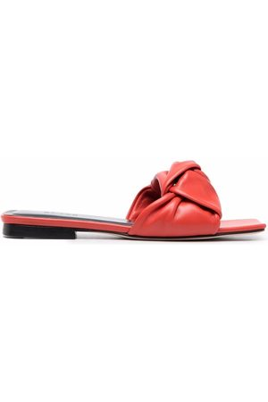BY FAR Damen Sandalen - Leather-knot sandals