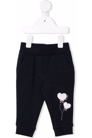 MONNALISA Slips & Panties - Heart print tracksuit bottoms