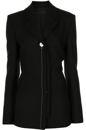 Proenza Schouler Damen Blazer & Sakkos - Technical wool longline blazer