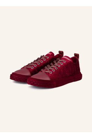 Giuseppe Zanotti Samt-Sneaker Blabber