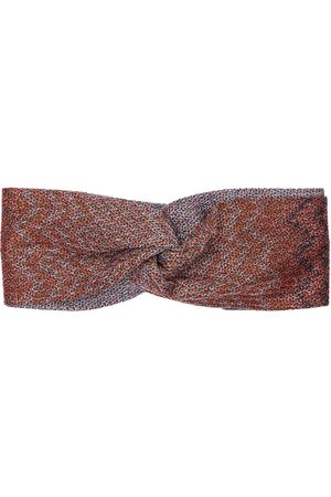Missoni Stirnband Aus Viskosestrick Mit Knoten Vorne