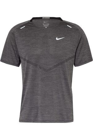 Nike Herren Shirts - Laufshirt Dri-Fit Adv Techknit Ultra schwarz