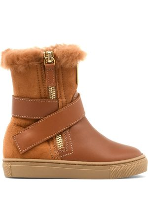 Giuseppe Zanotti Jungen Stiefel - Alec zipped boots