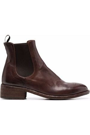 Officine creative Leather Chelsea boots