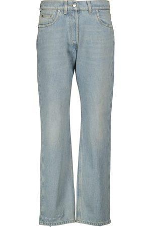 Prada High-Rise Straight Jeans