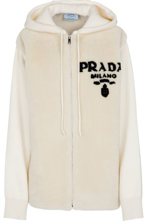Prada Pullover aus Shearling und Kaschmir