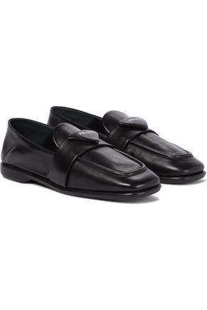 Prada Damen Halbschuhe - Loafers aus Leder