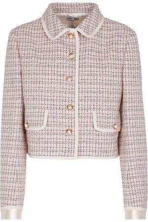 Miu Miu Blazer aus Tweed