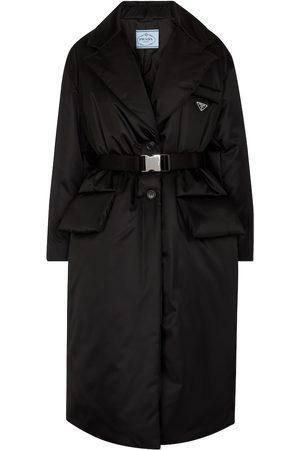 Prada Damen Mäntel - Wattierter Mantel aus Re-Nylon