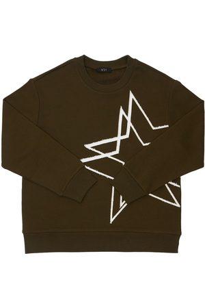 N°21 Sweatshirt Aus Baumwolle Mit Druck