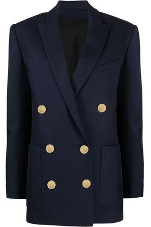 Balmain Oversized double-breasted blazer