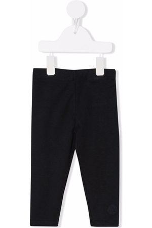 Moncler Mid-rise cotton leggings
