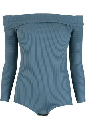 AMIR SLAMA Off-shoulder bodysuit