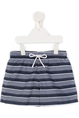 AMIR SLAMA Striped swimming shorts
