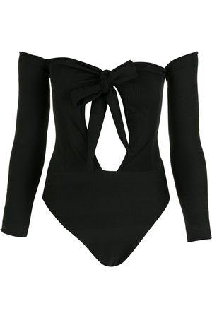 AMIR SLAMA Cut-out bodysuit