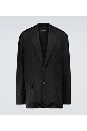 Balenciaga Bedruckter Blazer aus Jacquard