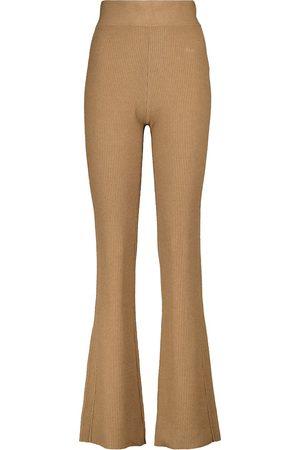 Frame Damen Hosen & Jeans - Hose aus Rippstrick