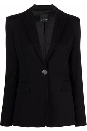 Pinko Single-breasted tailored blazer
