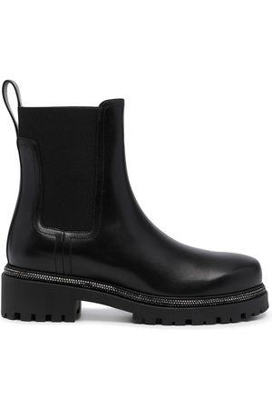 RENÉ CAOVILLA Chunky leather boots
